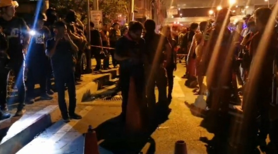 Two critically injured after shooting at rally site in front of SCB headquarters